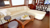 Yacht WOLF TWO -  Main Salon Seating